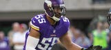 Vikings LB Anthony Barr misses practice with hamstring injury