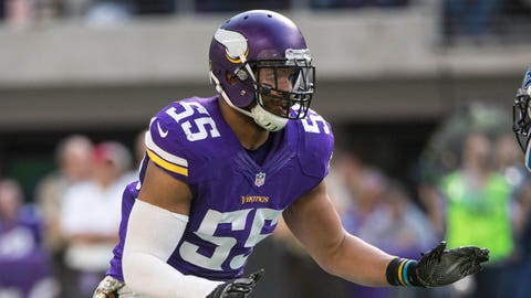 Anthony Barr, LB, Minnesota Vikings