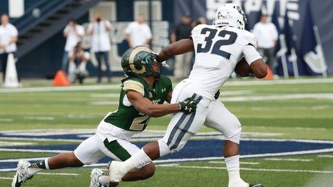 7th round: Devante Mays, RB, Utah State