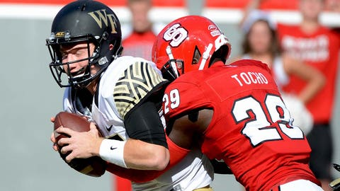 7th round: Jack Tocho, CB, North Carolina State