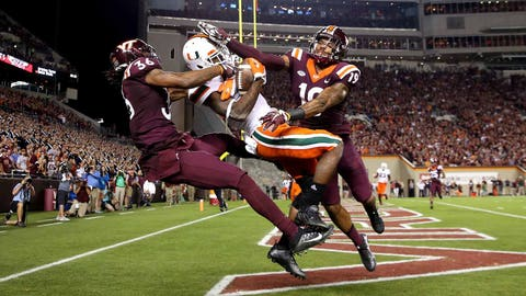 7th round: Stacy Coley, WR, Miami
