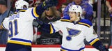 Blues beat Hurricanes 5-4 in shootout, set to play Wild in playoffs