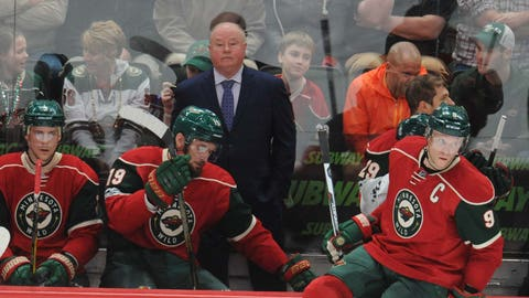 Head coach Bruce Boudreau