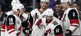 Coyotes crush Kings' playoff hopes thanks to PK unit