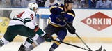 Wild in dire straits after third straight loss to Blues