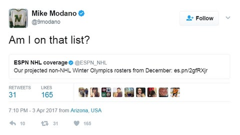 Mike Modano, former North Stars forward