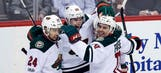 Wild survive late goal review, best Avalanche 4-3