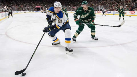 Minnesota shut down Tarasenko … almost