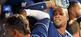 Brewers go ahead early in win over Blue Jays