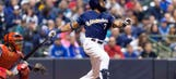 Brewers power past Cardinals with 3 home runs