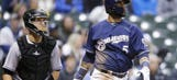 Jonathan Villar leading Brewers' power surge