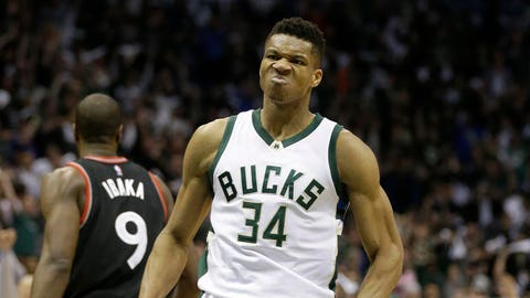 Giannis Antetokounmpo: Wide receiver
