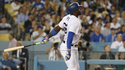 Puig leads MLB with three homers