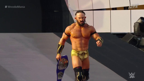Neville defeated Austin Aries to retain the Cruiserweight Championship
