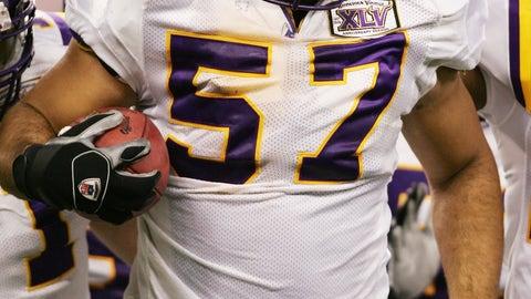 Raonall Smith, LB, Washington State (2002, 2nd round)