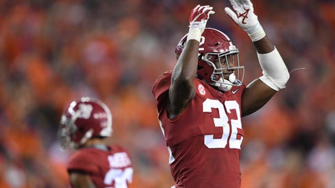 Raiders: Rashaan Evans, LB, Alabama