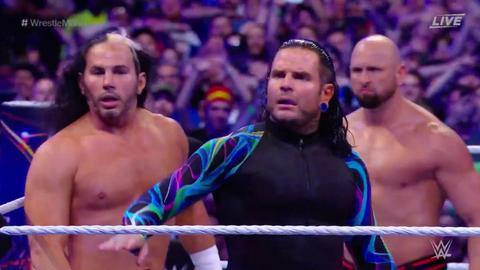 The Hardy Boyz returned to WWE