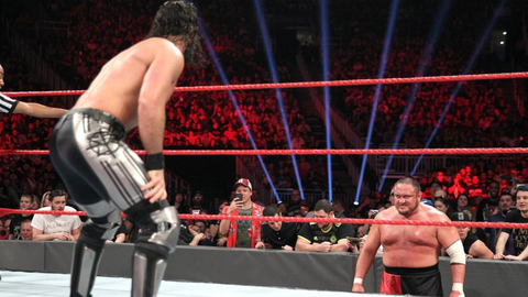 Seth Rollins vs. Samoa Joe