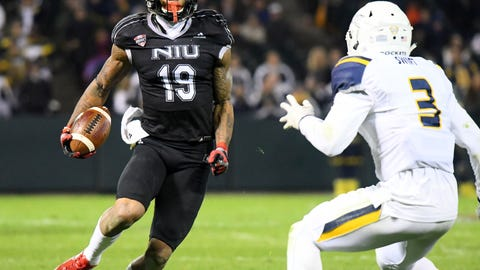 96. Detroit Lions (via trade with New England Patriots): Kenny Golladay, WR, Northern Illinois