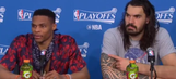 Russell Westbrook Lashes Out At question About Thunder Subs: 'Don't split us up'