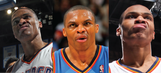 Celebrate Russell Westbrook's historic season with his 20 meanest mean mugs