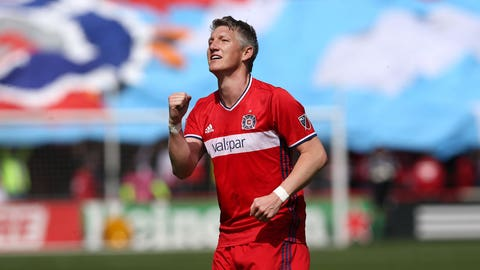 Chicago Fire - Bastian Schweinsteiger: $5.4 million