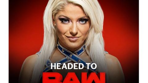 Alexa Bliss to Raw