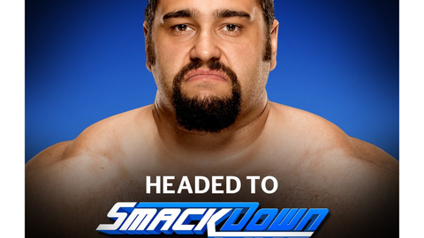 Rusev to SmackDown