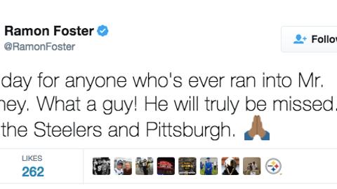 Ramon Foster, Steelers guard