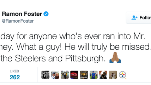 Ramon Foster, Steelers guard
