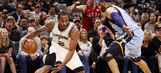 Spurs pull away late to take 2-0 series lead