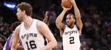 Spurs aim for season sweep of Lakers