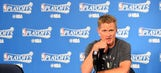 Steve Kerr says he could miss the rest of the playoffs due to complications from back surgery