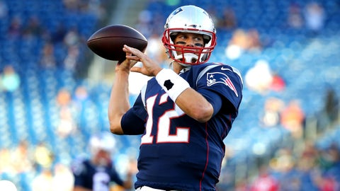 October 5: New England Patriots at Tampa Bay Buccaneers, 8:25 p.m. ET