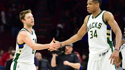 Giannis Antetokounmpo (ankle) out again for Bucks on Monday