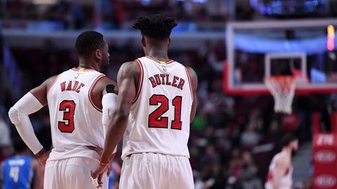 Chicago Bulls (41-41)