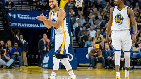 The Warriors sweep the Western Conference Finals