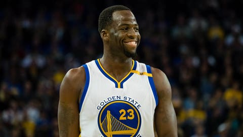Draymond Green is always one play away from exploding
