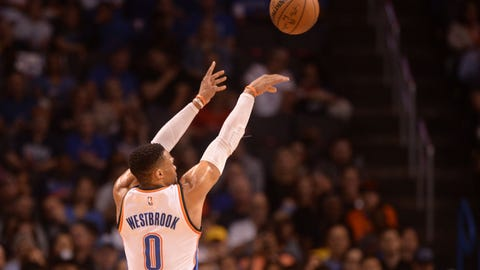 Russell Westbrook shot Oklahoma City out of the game