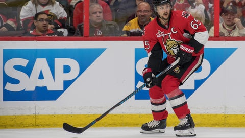 Erik Karlsson is a monster