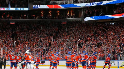 Oilers fans were ready