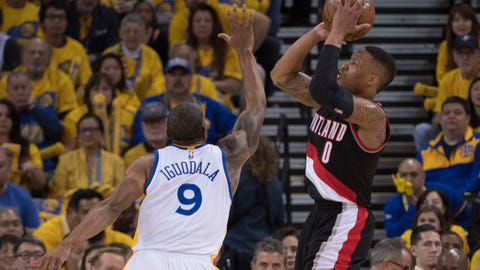 The Warriors took Portland's best shot in Game 1