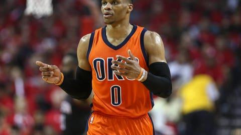 Russell Westbrook, PG, Oklahoma City Thunder