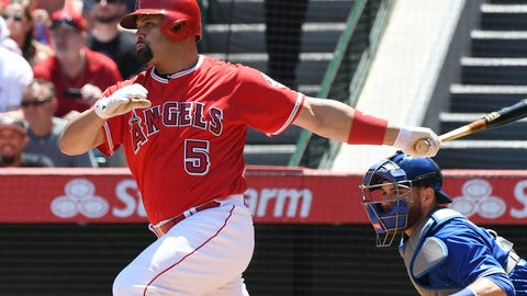 Los Angeles Angels (8-12)