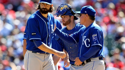 Kansas City Royals (7-11)