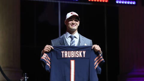 Chicago Bears: Mitchell Trubisky, QB, North Carolina