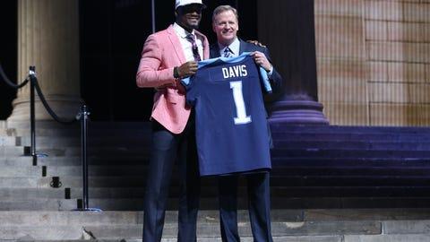 Tennessee Titans: Corey Davis, WR, Western Michigan