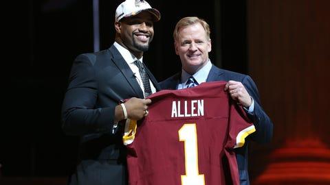 Washington Redskins: Jonathan Allen, DE, Alabama