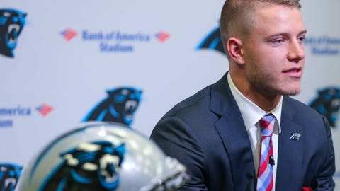 Carolina Panthers: RB Christian McCaffrey (1st round, No. 8)