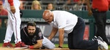 Washington Nationals lose Adam Eaton for season to torn ACL